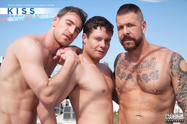 kiss and tel aviv gay video